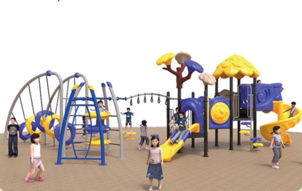 43x30x12 Outdoor Playground ASTM Commercial Playset Equipment Slide We Finance
