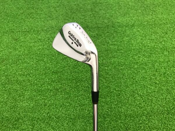 NICE Golden Ram TOUR GRIND Frequency Matched Forged 8 IRON Right Steel 6.5 STIFF