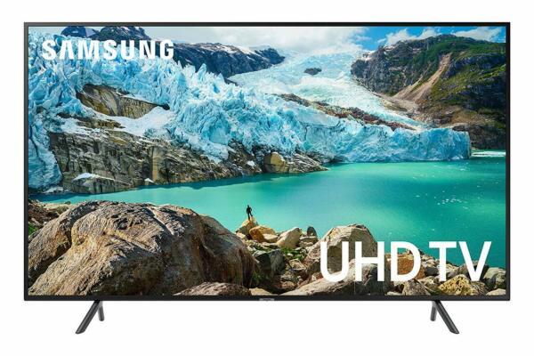 Samsung UN55RU7100 55-Inch 7 Series Wi-Fi Smart 4K UHD TV (2019 Model)