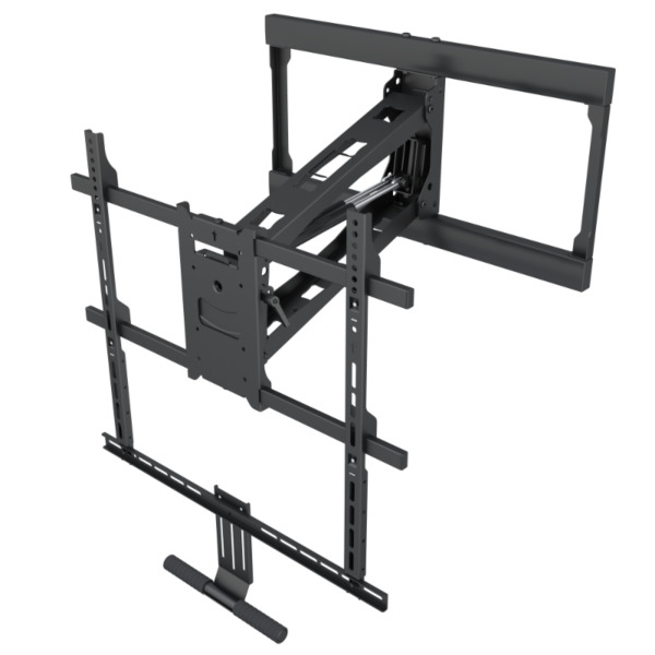 Above Fireplace or Mantel Pull-Down Full-Motion TV Wall Mount for 42