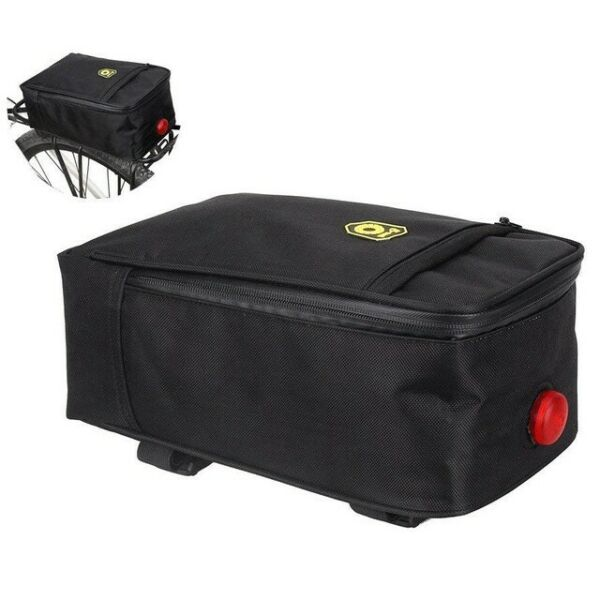 B SOUL Bicycle Bike Trunk Bag Pannier Saddle Bag Luggage Carrying Bag Waterproof $16.99