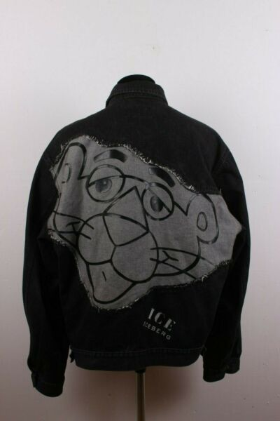 ice iceberg jeans jacket pink panther XXL 000273 $250.00