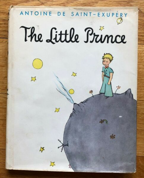 RARE Antoine de Saint-Exupery The Little Prince First Edition Dust Jacket 1943
