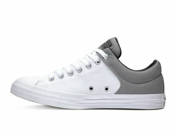 Converse Chuck Taylor CTAS HIGH STREET OX Womens Grey White 164286f Sneaker Shoe