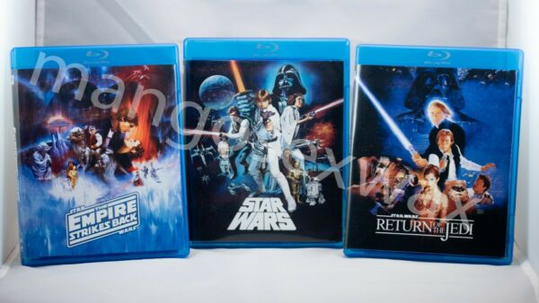 STAR WARS THEATRICALDESPECIALIZED TRILOGY BLU-RAY + DOCUMENTARIES (6 DISC SET)