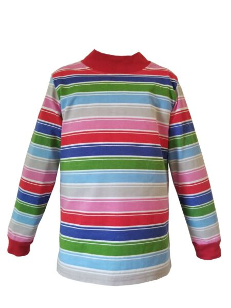 Infants Toddlers Kid Child Rainbow Striped Nice Guy T Shirt Costume Chucky Clown $17.99