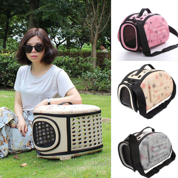 1pc Pet Bag Portable Lightweight Carrier Travel Bag for Dog Cat Pet with Handle