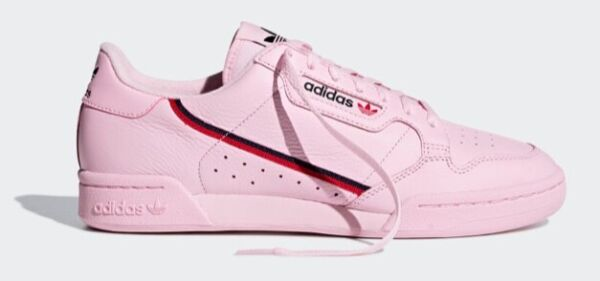 ADIDAS ORIGINALS CONTINENTAL 80 SNEAKERS PINK SNEAKERS RARE SHOES