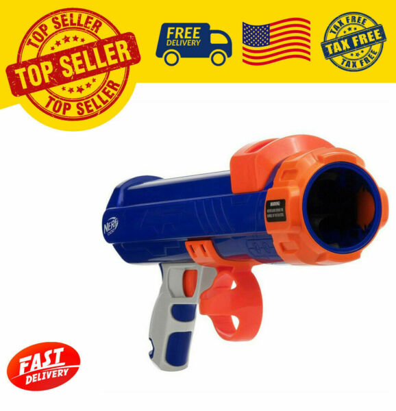 16inch Medium Compact Tennis Ball Blaster Dog Toy by Nerf 2 Days Shipping