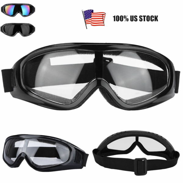 Safety Glasses PC lenses Goggles Anti-fog Sand-Proof For grinding Outdoor Sport