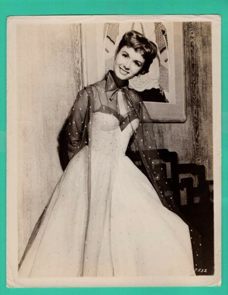DEBBIE REYNOLDS Actress Movie Star 1950's Promo Vintage Photo 8x10