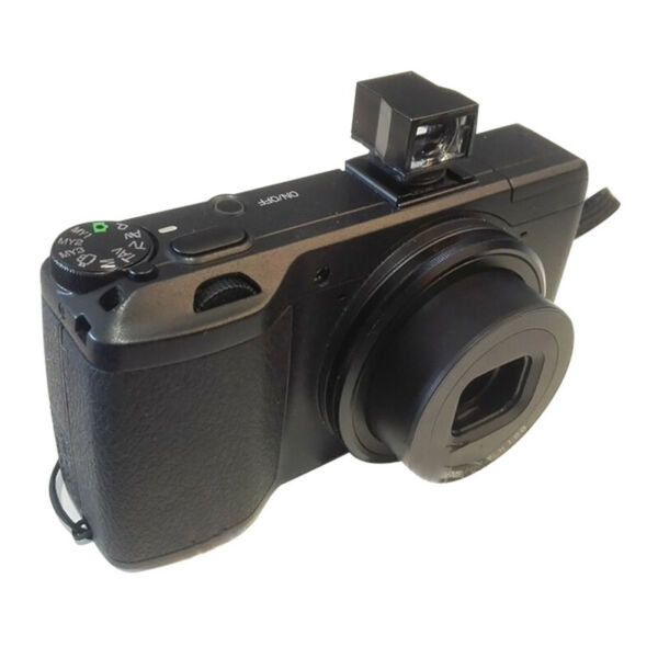Professional Camera Len Optical ViewfinderFit  Ricoh GV-1 GR GRII To Save Power