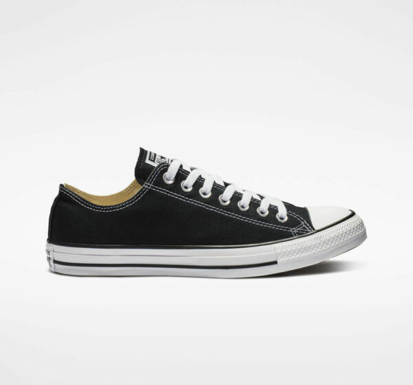 Converse Chuck Taylor LOW TOP Mens Womens Black M9166 Sneaker Shoes