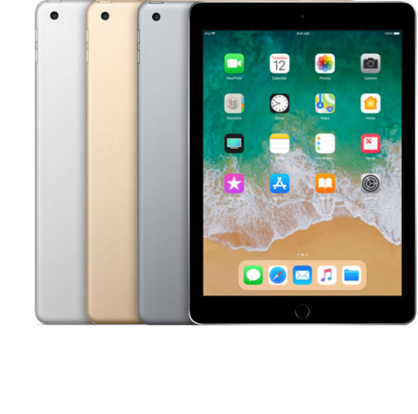 Apple iPad 5th Generation 9.7quot; 32GB 128GB Gray Gold Silver WiFi OR Cellular