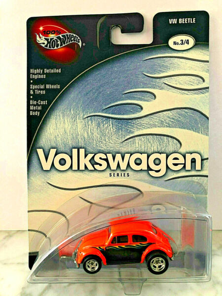100% Hot Wheels Preferred VOLKSWAGEN Series VW BEETLE Real Rider BUG !!