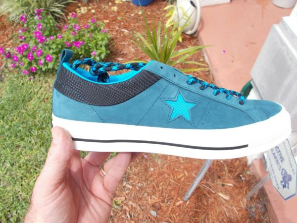 Converse  One STAR OX Hero Blue / Black  162543c Men's SIZE 10.5  NEW in box