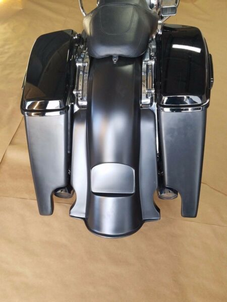 HARLEY DAVIDSON 6quot; EXTENDED SADDLEBAGS AND REAR FENDER TOURING 2014 2016 $535.80