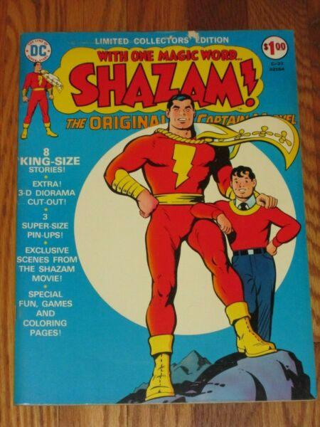 DC COMICS; LIMITED COLLECTORS EDITION #C 27 SHAZAM TREASURY EDITION