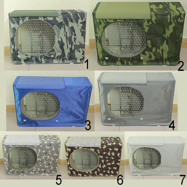 Outdoor Window Working Air Conditioner Cover Dust Rain Snow Prevent Case