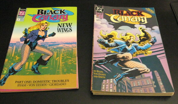 Lot of *15* BLACK CANARY! •(1993) #1-11   +   •(1991) #1-4 (NM-)