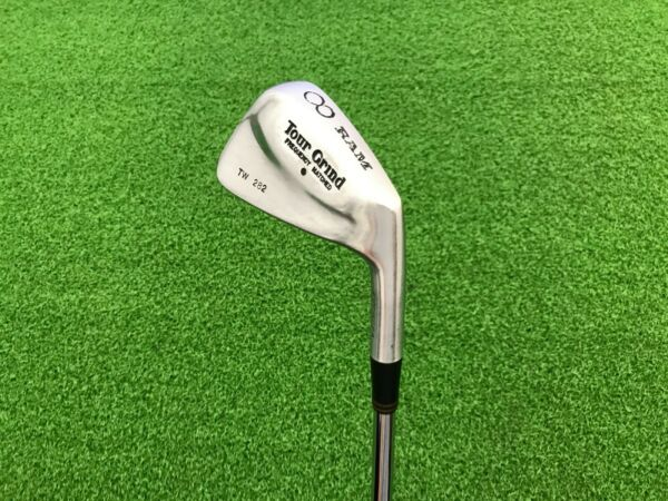 RARE Ram Golf TOUR GRIND TW 282 Frequency Matched 8 IRON Right Steel S300 STIFF