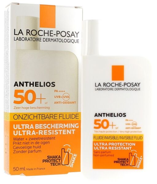 La Roche Posay ANTHELIOS SHAKA Fluid NON PERFUMED Sunscreen SPF50 50ml
