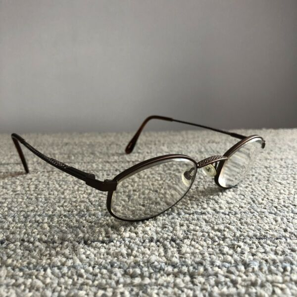 American Optical Eyeglasses Eye Glasses Frames Aos Safety Urban 3 47-21 Brown