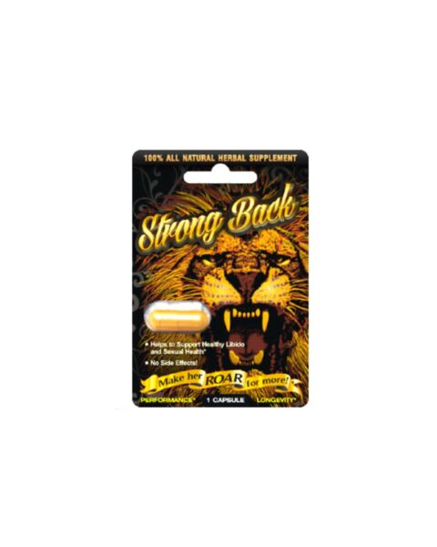Strong Back (Pack of 24 ) Male Sexual Enhancement Pills One Box 24 pills