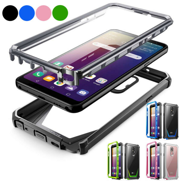 LG Stylo 5  LG Stylo 4 Case,Poetic [Guardian] Built-in-Screen Protector Cover