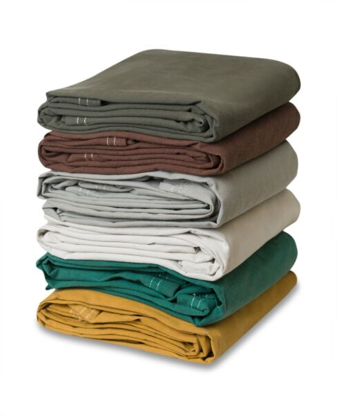 Heavy Duty Canvas Tarp 100% Cotton Canvas Water and Mildew Resistant