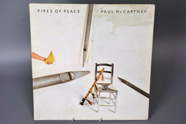 Vinyl Record LP Album: Paul McCartney (Michael Jackson) Pipes of Peace Gatefold