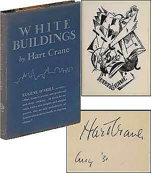Hart CRANE  White Buildings Signed 1st Edition 1926