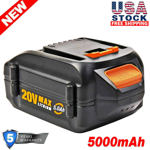 For WORX 20V MAX Extend Battery WA3520 WA3525 WA3575 WG155 3.0Ah Lithium Tools
