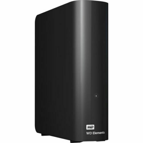 WD Western Digital 1TB  WD Elements External Hard Drive for Desktop Laptops
