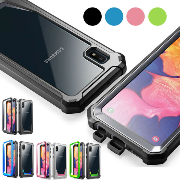 For Samsung Galaxy A10E Case Poetic Guardian Built in Screen Protector Cover $14.89