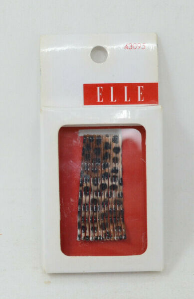 Elle Animal Pattern Bobby Pins 12 Pack