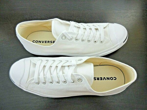 Converse Mens Jack Purcell CP OX Classic Canvas White Shoes Size 12 New 1Q698