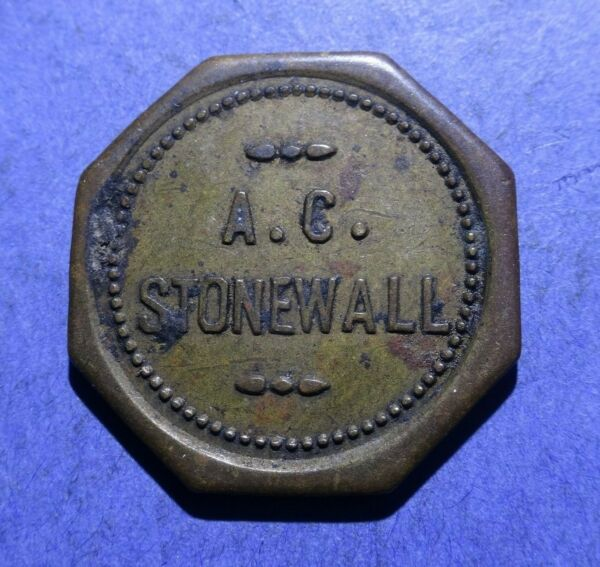 A.C. Stonewall Good for 5 cents in Trade Holyoke MA