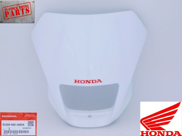 New Genuine Honda Headlight Visor Shroud Plate CRF250X CRF450X OEM