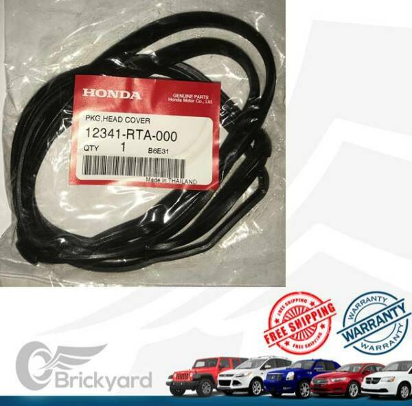 NEW OEM HONDA VALVE COVER GASKET 12341RTA000 CIVIC ELEMENT CRV AND OTHERS