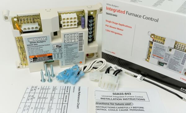50A55 843 White Rodgers Furnace Ignition Module Control Board $125.00