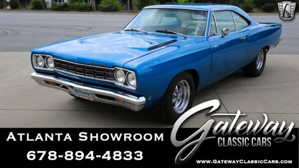 1968 Plymouth Road Runner 426 Hemi Blue 1968 Plymouth Road Runner Coupe 426 cid Hemi V-8 4 speed manual Available N