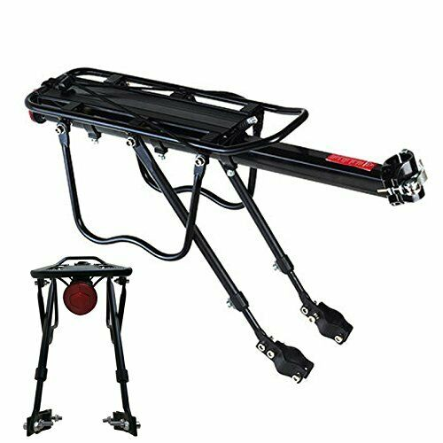 Bike Rear Rack Seat Luggage Carrier Bicycle Post Pannier Cycling Aluminum Alloy