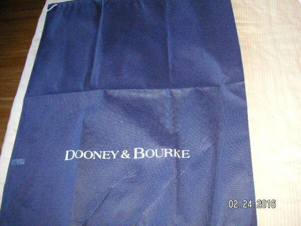 REDUCED Dooney & Bourke Dust Protect Bag for Handbags Navy Differ't Szs NEW