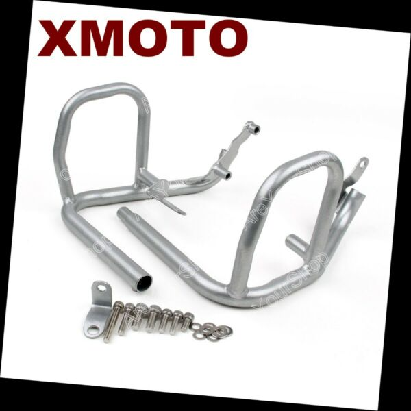 Motorcycle Silver Saftey Crash Bars Protection For BMW F650 F700 F800 08-13
