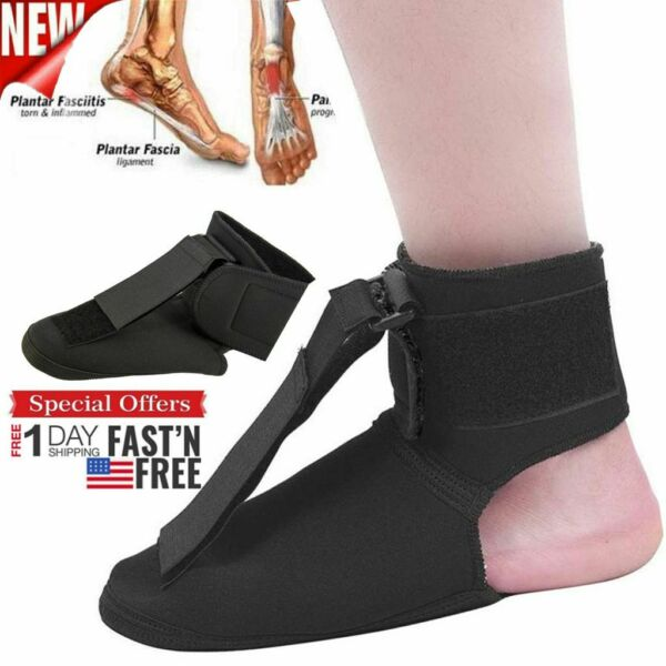 Adjustable Plantar Fasciitis Night Splint Foot Brace Fashion Support Toe Pain