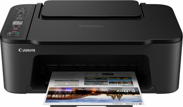 New! Canon PIXMA TS3122 Wireless All-in-One Inkjet Printer (Ink Not Included)