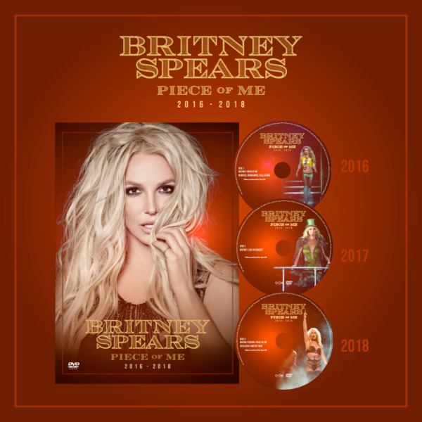 Britney Spears - Piece Of Me (3-Disc Set)