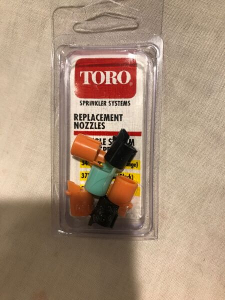 Toro Single Stream Lawn Sprinkler Nozzles 89 9655 6 Pieces New