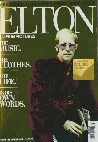 Uncut Elton John Special Collector#x27;s Edition A Life In Pictures NM No Label